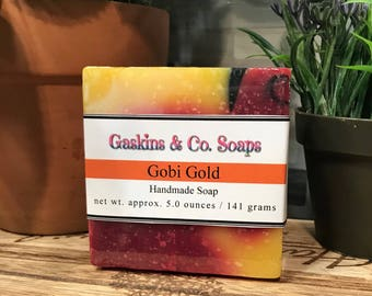 Gobi Gold Handmade Soap | Made With Organic Shea Butter & Olive Oil