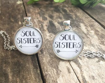Soul Sisters Duo Necklace Set