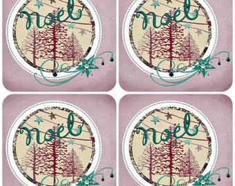 Set of 20 Christmas cards handmade 15cm x 15cm with envelopes