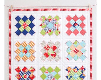 Little Granny Mini Quilt PDF Pattern