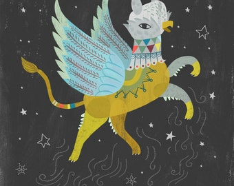 Starry Griffin by Sarah Walsh