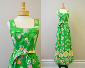 1960s Malia Hawaiian Dress