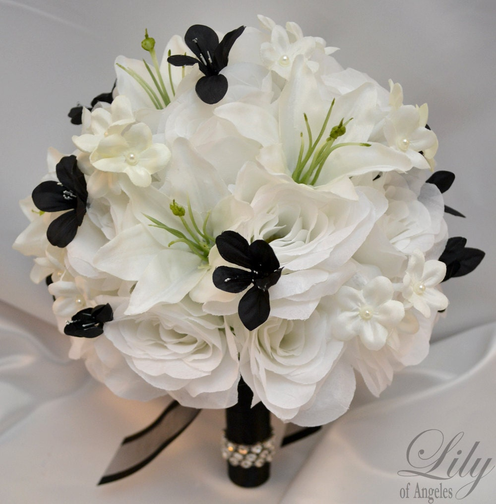 Wedding bouquet bridal bouquet bridesmaid bouquet silk zoom mightylinksfo