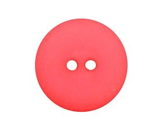 Round button colorful squash color 25MM 2 holes