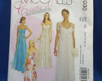 McCall's Create it! M6030 sewing pattern, Misses' dresses US sizes 6 to 14