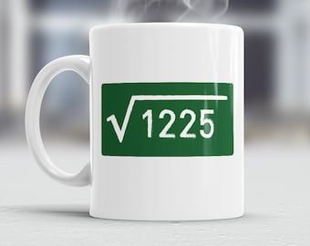 35th Birthday, 1981 Birthday, Square Root of 1225, 35th Birthday Gift, 35th Birthday Idea, Vintage, 1981, 35th Birthday Present 35 year old