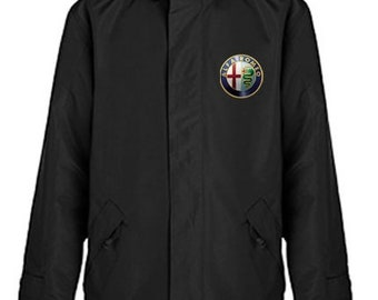 Jacket Alfa Romeo Quilted Polyester Wind and Water Resistant Winter