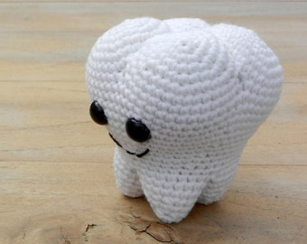 Molar the amigurumi tooth - pattern