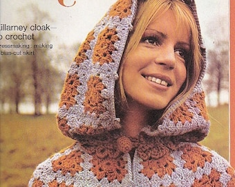 ON SALE Golden Hands Encyclopaedia of Knitting Dressmaking and Needlecraft Guide Part 22 1970s