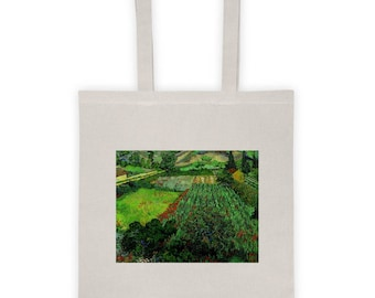 Vincent van Gogh, Field with Poppies - Tote bag