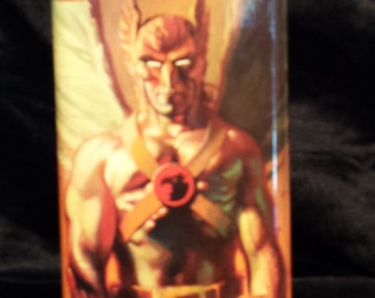 SALE 9.99 (was 19.99) Hawkman 8 oz stainless steel flask