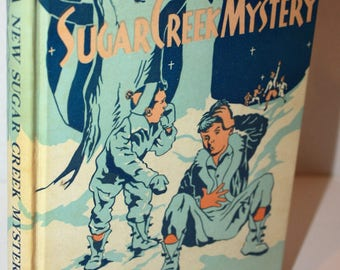 A New Sugar Creek Mystery by Paul Hutchens 1951 Hardcover