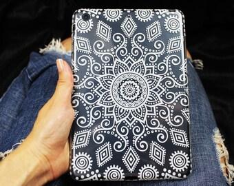 Mandala case for iPad Pro, iPad mini case, iPad Air silicone case, iPad 2/3/4 case, clear silicone case for iPad Pro 12, back cover for iPad