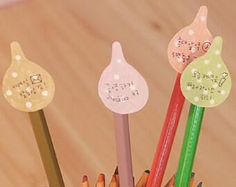 Kawaii Waterdrops Sticky Index Memo Pad