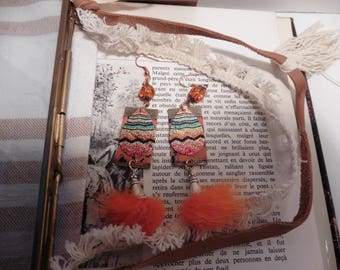 Dangle earrings boho chic
