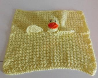 Yellow ducky blankie