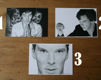 Cumberbatch Art Prints (Postcard)