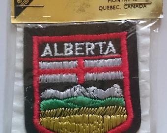Sew on patch - Alberta