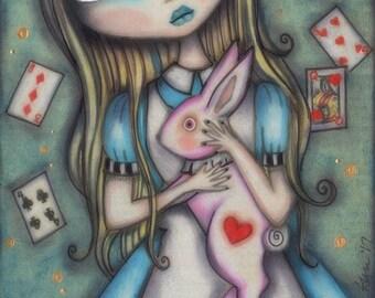 Lost in Wonderland - 8x10 Signed Print