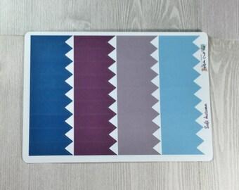 Planner Stickers-Soft Autumn Flag Stickers