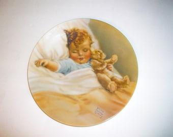 Bessie Pease Gutman.Original Work  Happy Dreams  Plate  bx8  98691623