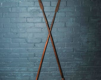 Authentic 19th Century African Maasai Hunting Spear with Iron blade and the Original Leather Bindings to handle - Read Shipping Info