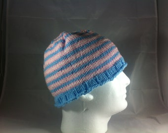 Transgender Pride Winter Knitted Hat