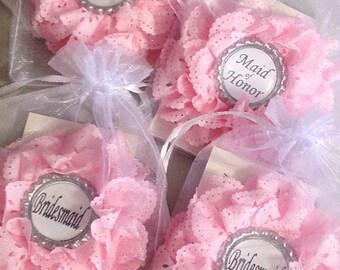 Bridal Badge - Bridesmaid Gift - Bridal Party Pins - Bridal Shower Badge - Be My Bridesmaid