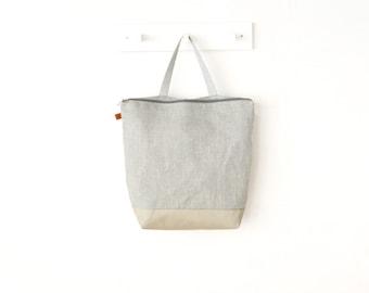 Backpack woman linen backpack Lilyleau