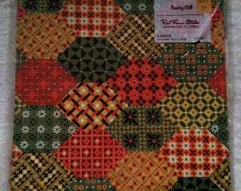Vintage Red Farm Studio Patchwork Wrapping Paper