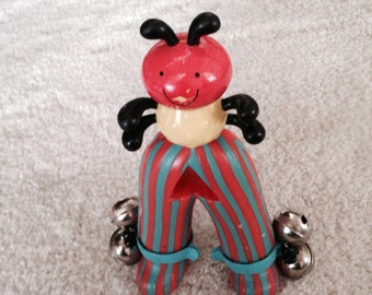 Super cute standing man toy rattle