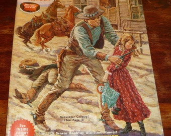Old West Magazine Spring 1969 Non-Fiction True Stories of the Old West