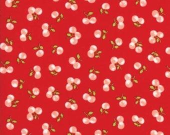 Half Yard Fabric-Good Life-Cherries-Red cherry 55158-11