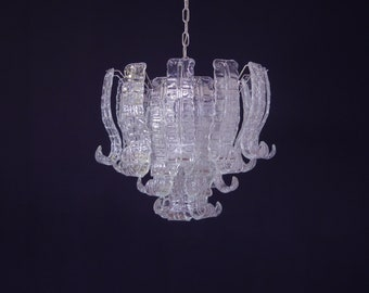 Italian Murano Felci Glass chandelier - 36 glasses