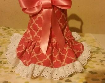 Coral Harness dress
