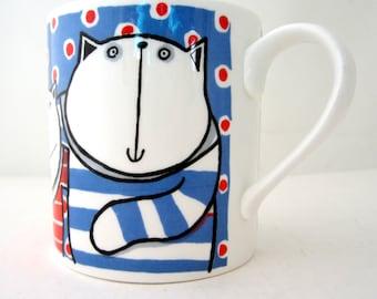 Josie Firmin HAPPY CATS Northington Street Studio London VINTAGE