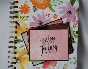 Daily Journal, Enjoy the Journey, Writing Book