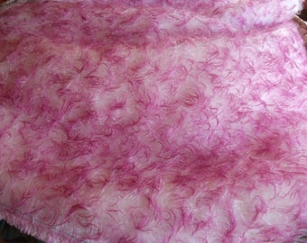 Steiff Schulte 23mm White with Pink Tipped Mohair