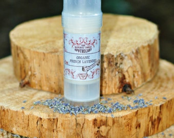 French Lavender Vegan Lotion  2 oz Twist Tube - Handmade by The Natural Choice Apothecary