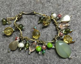 Bracelet ' Tuscany Olive groves '-18 cm