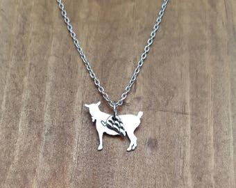 Angel Goat Necklace