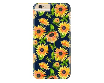 Sunflowers Phone Case | iPhone X, iPhone 8, iPhone 8 Plus, iPhone 7, iPhone 7 Plus, iPhone 6s Plus, iPhone 6, iPhone 5, iPod Touch