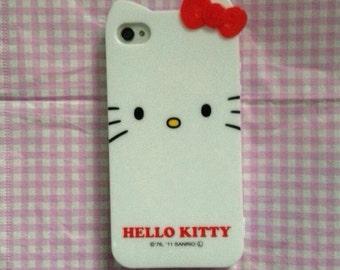 Iphone 4/4s hello kitty silicon case