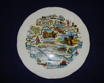 Dorset souvenir plate