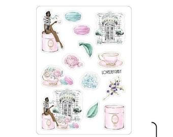 "LovedbyGaby stickers ""La Duree"""