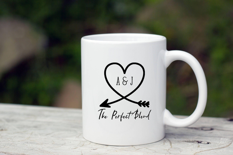 Rustic Unique Coffee Mug bridal shower favors Wedding
