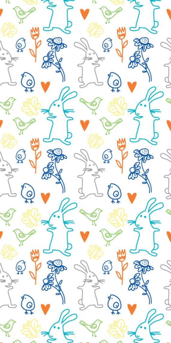 removable wallpaper wallpaper nursery wallpaper rabbit
