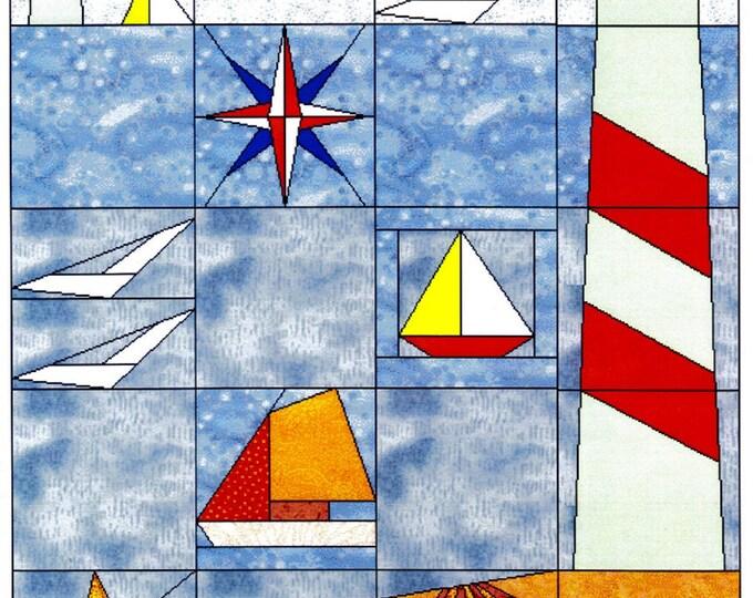 Für Anfänger. An der See, Sommer -1996 - Serie-MINIPATCH CLASSIC, 30 x 37,5 cm