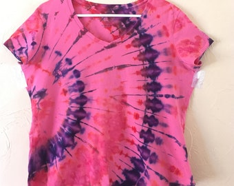 Tie-dye t-shirt- lady's XL