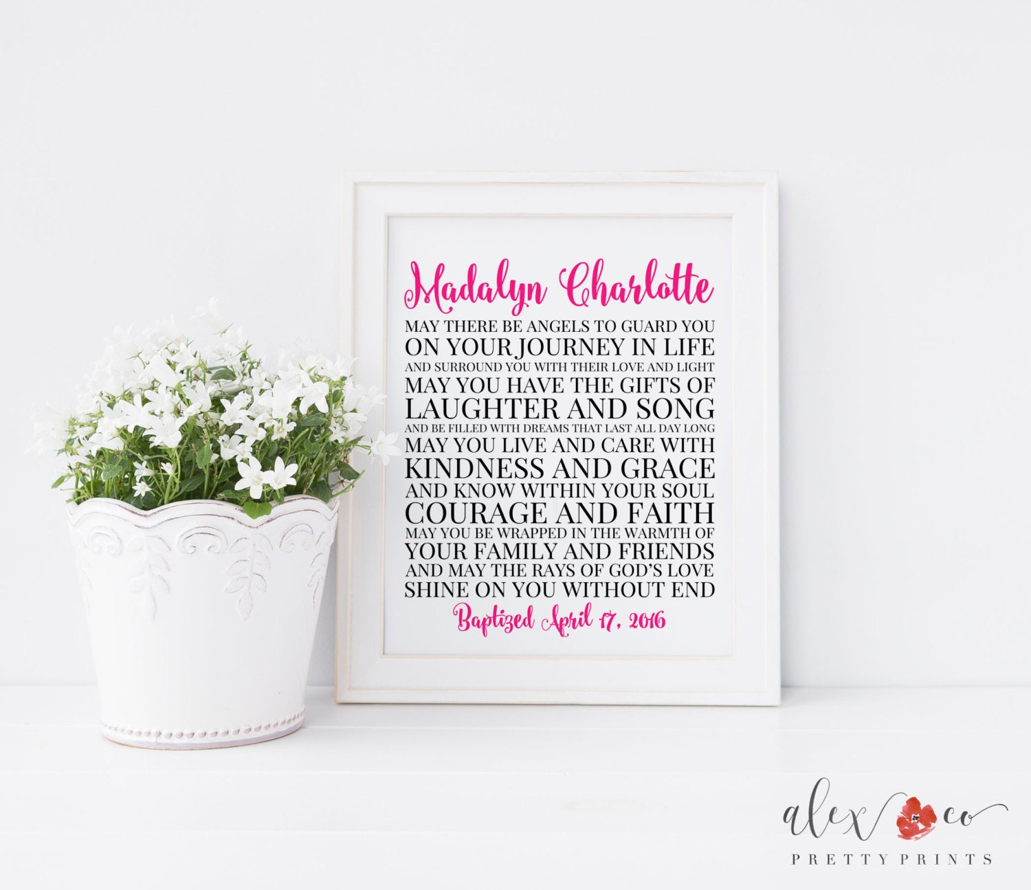 Baptism gift baby dedication gift baby christening gifts zoom 1betcityfo Gallery